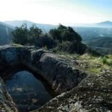 La citerne au sommet de A Rocca