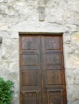 La porte de l'église