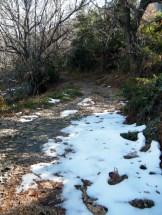 Les dernières traces de neige