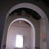 L'intérieur depuis l'autel