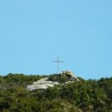 Une croix que l'on verra sur le chemin du retour