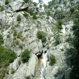 Au dessus de la cascade d'Ortola