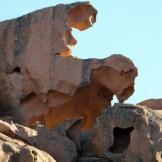 Les rochers sont sculptés