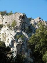 Un rocher scuplté