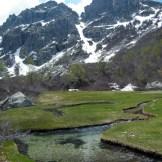 Au pied du Monte Canapella