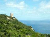 La tour et les îles Sanguinaires au fond