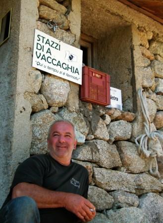Noël Donati, berger de Vaccaghja
