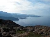 Vue sur le sud et la presqu'île d'Omigna