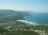 Vue sur la plage de l'Ostriconi