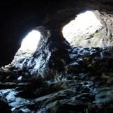De l'intérieur de la mine la plus au nord