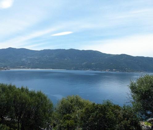 Vue sur la baie de Tiuccia