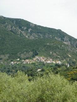 Vue sur Sari-d'Orcino