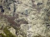 Les neiges fondent et le Monte d'Oro est plein de cascades