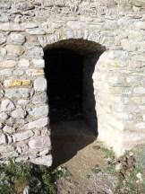 Une entrée vers le sous-sol
