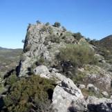 Ce promontoire est parsemé de ruines du château