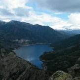 Vue sur le lac de Tolla