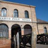 Arrivée à la verrerie de Murano
