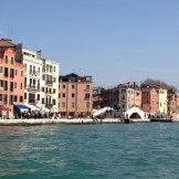 Arrivée à Venise en bateau bus