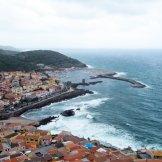 Vue sur le port de Castelsardo