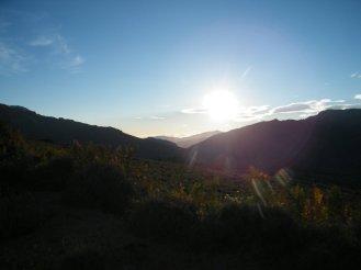 Le soleil se lève sur le San Petrone