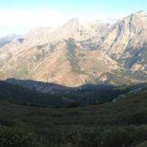Panorama sur le Monte d'Oro
