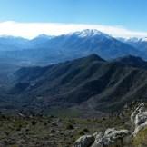 Vue sur la vallée du Tavignano