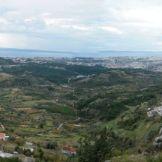 Vue sur la région de Split