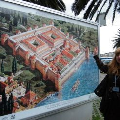 Le plan du palais d'origine
