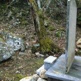 Sinistre histoire près d'une fontaine