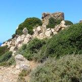 On arrive à la tour de Pelusella