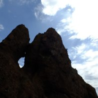 Un trou en forme de Corse à Scandola