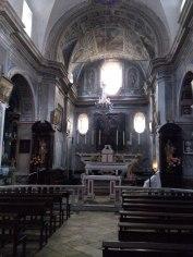 Dans l'église San Michele de Penta di Casinca