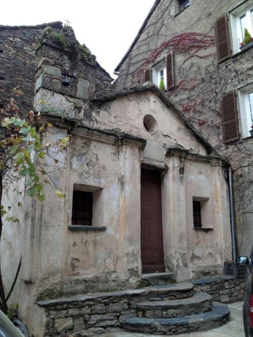 Une chapelle à Penta di Casinca