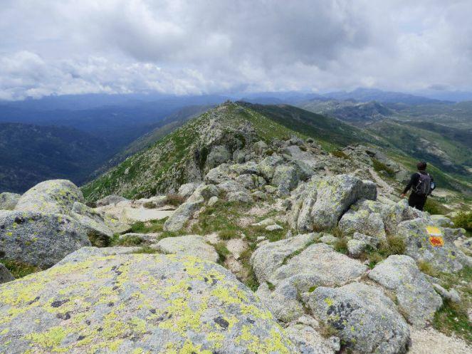 Le sommet du monte Incudine