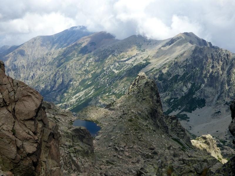 Vue sur le lac de Pozzolo