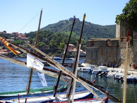 Dans le port de Collioure