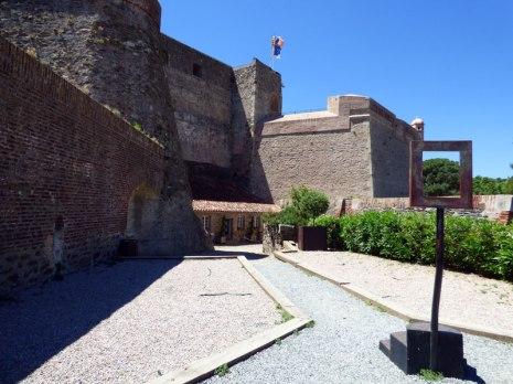 Dans le château de Collioure