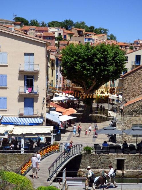 Vue sur la ville depuis le château