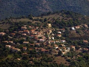 Vue sur Piana depuis la Punta Castellacciu