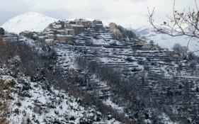 A Riventosa sous la neige