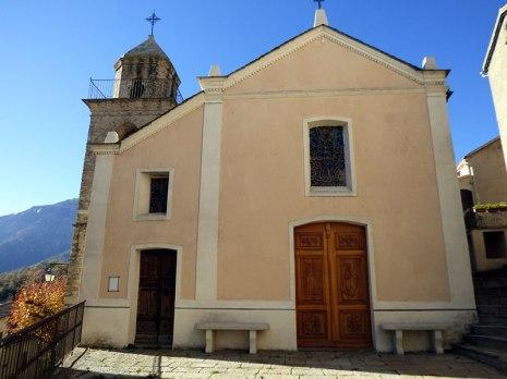 L'église de Riventosa du XVIIIe