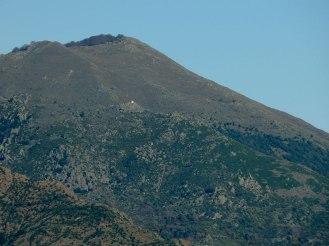 Vue sur la chepelle Sant'Alesiu