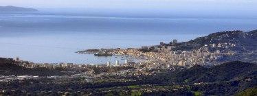 Panorama sur Ajaccio