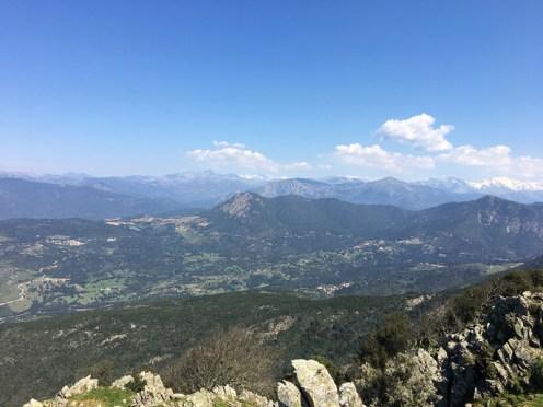 Panorama sur les montagnes