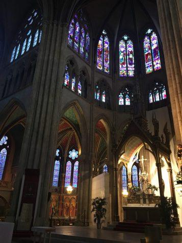Dans la cathédrale Saint-Marie