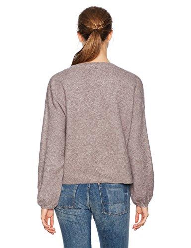 MINKPINK Women's Willow Blouson Sleeve Oversized Jumper Sweater