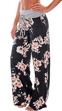 AMiERY Women's Casual Pajama Pants Floral 2