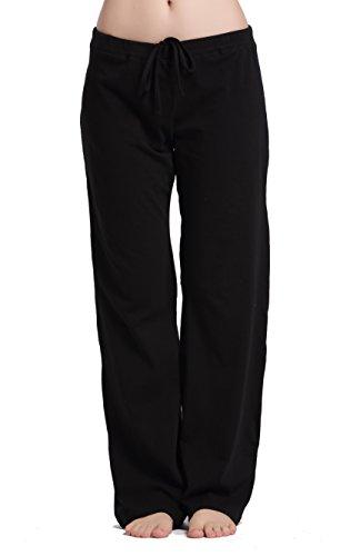 CYZ Women's Stretch Cotton Knit Pajama Pants