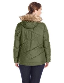 Columbia Women's plus-size Snow Eclipse Jacket Plus