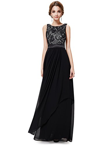 Ever Pretty Elegant Sleeveless Round Neck Evening Party Dress